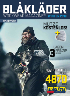 SOBRAL Blaklader Katalog Winter 2018